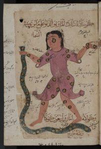 405px-Kitab_al-Bulhan_---_man_and_snake